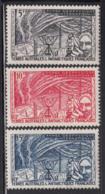 FSAT TAAF 1957 MNH Sc #8-#10 Set Of 3 International Geophysical Year - Terres Australes Et Antarctiques Françaises (TAAF)
