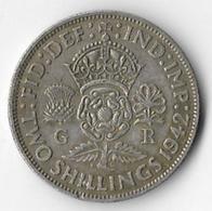 United Kingdom 1942 2/- (A) [C279/1D] - 1902-1971 : Post-Victorian Coins