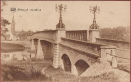 Maaseik Maeseyck Maasbrug (kreukjes) - Maaseik