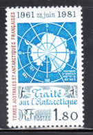 FSAT TAAF 1981 MNH Sc #94 1.80fr Antarctic Treaty, 20th Anniversary - Terres Australes Et Antarctiques Françaises (TAAF)