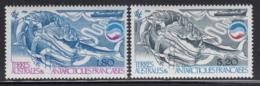 FSAT TAAF 1985 MNH Sc #112-#113 Set Of 2 Whales In Food Chain Biomass - Terres Australes Et Antarctiques Françaises (TAAF)