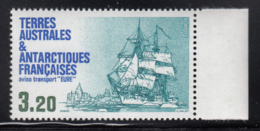FSAT TAAF 1987 MNH Sc #131 3.20fr Transport Ship Eure - Terres Australes Et Antarctiques Françaises (TAAF)