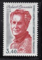 FSAT TAAF 1988 MNH Sc #135 3.40fr Robert Gessain Explorer - Terres Australes Et Antarctiques Françaises (TAAF)