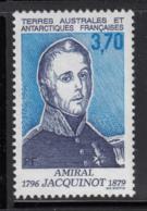 FSAT TAAF 1996 MNH Sc #218 3.70fr Admiral Jacquinot Explorer - Terres Australes Et Antarctiques Françaises (TAAF)