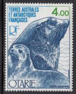FSAT TAAF 1979 MNH Sc #C47 4fr Sea Lion, Cub - Poste Aérienne