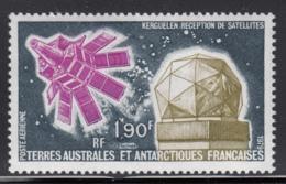 FSAT TAAF 1979 MNH Sc #C51 1.90fr Satellitet, Kerguelen Tracking Station - Poste Aérienne