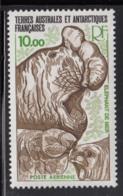 FSAT TAAF 1979 MNH Sc #C54 10fr Elephant Seals - Poste Aérienne