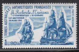FSAT TAAF 1979 MNH Sc #C56 1.90fr La Recherche, L'Esperance Sailing Ships - Poste Aérienne