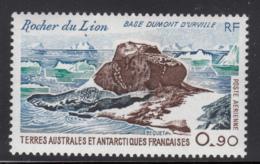 FSAT TAAF 1979 MNH Sc #C57 90c Lion Rock - Poste Aérienne