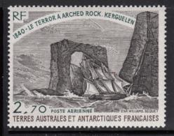 FSAT TAAF 1979 MNH Sc #C58 2.70fr Natural Arch, Kerguelen Island - Poste Aérienne