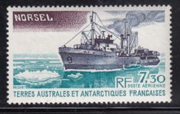 FSAT TAAF 1980 MNH Sc #C63 7.30fr Norsel Icebreaker - Poste Aérienne