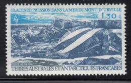 FSAT TAAF 1981 MH Sc #C64 1.30fr Glacial Landscape Dumont D'Urville Sea - Poste Aérienne