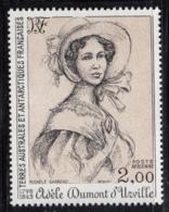 FSAT TAAF 1981 MNH Sc #C66 2fr Adele D'Urville - Poste Aérienne