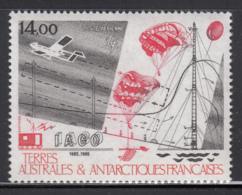 FSAT TAAF 1986 MNH Sc #C92 14fr Antarctic Atmospheric Research 10th Anniversary - Poste Aérienne
