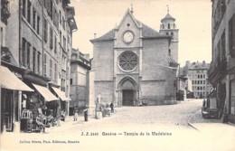 SUISSE Swiss ( GE ) GENEVE : Temple De La Madeleine - CPA - Switzerland Schweiz Zwitsers Suizo Suíço - GE Genève