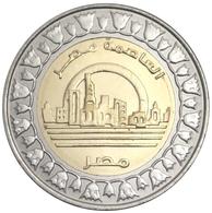EGYPT 1 POUND NEW CAPITAL CITY - ALAMEIN BIMETAL BI-METALLIC 2019 UNC - Egypt