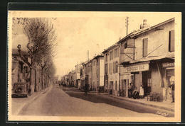 CPA Sorgues, Route D`Orange - Sorgues