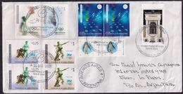 Argentina - 2009-  Lettre - Jeux Olympiques - Sports Olympiques - Timbres Divers - Briefe U. Dokumente