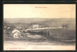 CPA Bruyeres, La Gare Et Le Quartier Barbazan - Bruyeres