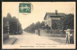 CPA Morsang-sur-Orge, Parc Beauséjour, Avenue Marthe - Morsang Sur Orge