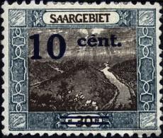 Saar 72I MNH 1921 Paesaggi (II) - 1920-35 Società Delle Nazioni