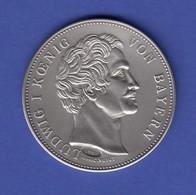 Silbermedaille Vermählung Kronprinz V. Bayern & Prinzessin V. Preußen Ag999 25g - Entriegelungschips Und Medaillen