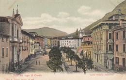 Salò-brescia-lago Di Garda-corso Vittorio Emanuele-CARTOLINA  NON VIAGGIATA-ANNO 1900-1904 - Brescia