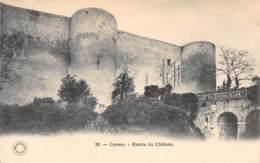 37 - LUYNES - Entrée Du Château - Luynes