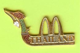 Pin's Mac Do McDonald's Bateau Thaïland - 6AA20 - McDonald's