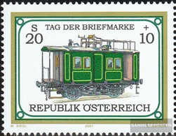 Austria 2345 (complete Issue) Unmounted Mint / Never Hinged 2001 Day The Stamp - 1945-.... 2nd Republic