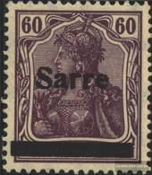 Saar 14b I, Testati MNH 1920 Germania - 1920-35 Saargebiet – Abstimmungsgebiet