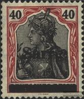 Saar 12b III Testati Con Fold 1920 Germania - 1920-35 Saargebiet – Abstimmungsgebiet