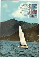 Carte Maximum AIX LES BAINS  Vue Du Lac - 1960-69