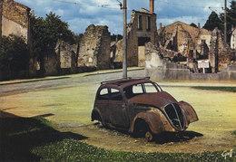 87 Oradour Sur Glane Champs De Foire Automobile De Dr Desourteau (2 Scans) - Oradour Sur Glane