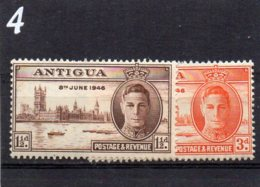 1946 GV1 Victory Pair MNH - 1858-1960 Crown Colony