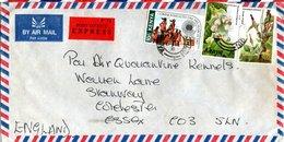 KENYA,  Letter,   Orchid    /     Lettre,  Orchidée - Orchideen