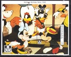GRENADA GRENADINES 1993 WALT DISNEY MICKEY'S BIRTHDAY PARTY (1942) BLOCK SHEET BLOCCO FOGLIETTO MNH - Grenada (1974-...)