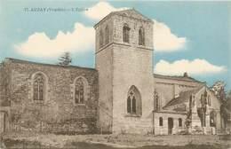 "CPA FRANCE 85 ""Auzay, L'Eglise"" - France"