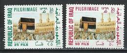 Iraq. Scott # 940-41 MNH. Pilgrimage To Mecca. Joint Issue With Kuwait 1979 - Joint Issues