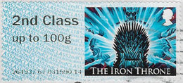 GB 2018 Game Of Thrones Post And Go 2nd Class Issue Code 264937 Used [32/175/ND] - Great Britain
