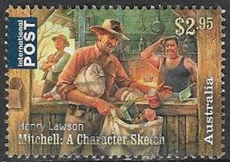 Australia 2017 Henry Lawson $2.95 Sheet Stamp Good/fine Used [37/31132/ND] - 2010-... Elizabeth II