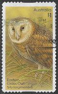 Australia 2016 Owls $1 Type 1 Self Adhesive Good/fine Used [39/31922/ND] - 2010-... Elizabeth II