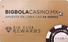 Big Bola Casinos - Mexico - Slot Card  .....[FSC]..... - Casino Cards