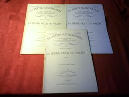 LA PETITE ILLUSTRATION °° DU 22 FEVRIER  1930 /  LA JEUNE FILLE DU YACHT  / MAURICE RENARD - 1901-1940