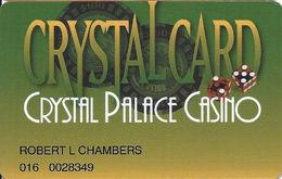 Crystal Palace Casino - Nassau Bahamas - Slot Card ....[FSC]..... - Casino Cards