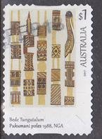2017. AUSTRALIAN DECIMAL. Art Of The North $1 Bede Tungutalun  Pukumani Poles, 1988  NGA. P&S. FU. - 2010-... Elizabeth II