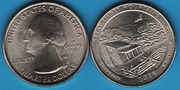 USA ¼ Dollar Washington Quarter 2014 D GREAT SMOKEY MOUNTAINS TENNESSEE - Federal Issues
