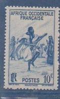 A  O  F        N°  YVERT  :    24       NEUF AVEC  CHARNIERES      ( Ch 1/10  ) - A.O.F. (1934-1959)