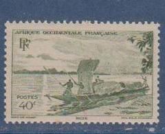 A  O  F        N°  YVERT  :    26       NEUF AVEC  CHARNIERES      ( Ch 1/10  ) - A.O.F. (1934-1959)