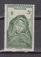 A  O  F        N°  YVERT  :    37      NEUF AVEC  CHARNIERES      ( Ch 1/11  ) - A.O.F. (1934-1959)
